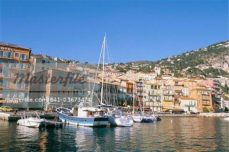 Villefranche sur Mer, Cote d'Azur, Provence, Côte d'Azur, France, Méditerranée, Europe