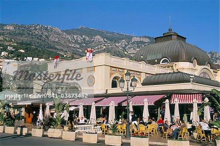 Cafe de Paris, Monte Carlo, Monaco, Côte d'Azur, Méditerranée, Europe