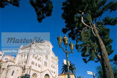 Cathédrale, Monaco, Côte d'Azur, Méditerranée, Europe