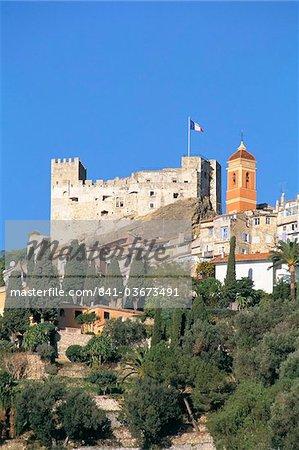 Roquebrune, Cote d'Azur, Alpes-Maritimes, Provence, France, Méditerranée, Europe