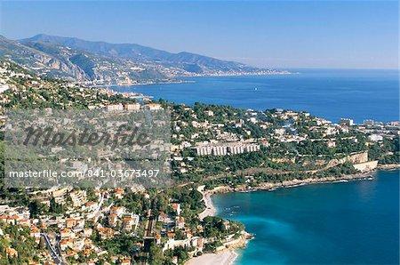 Cap Martin, Cote d'Azur, Alpes-Maritimes, Provence, Côte d'Azur, France, Méditerranée, Europe