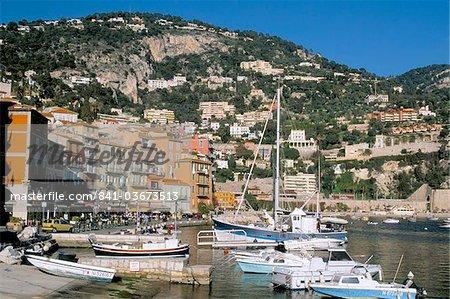 Villefranche sur Mer, Alpes-Maritimes, Côte d'Azur, Provence, Côte d'Azur, France, Méditerranée, Europe