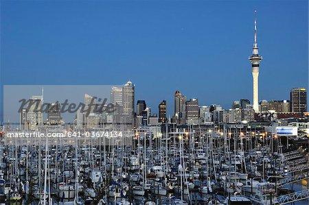Westhaven, le port de Waitemata, Auckland, North Island, New Zealand, Pacifique