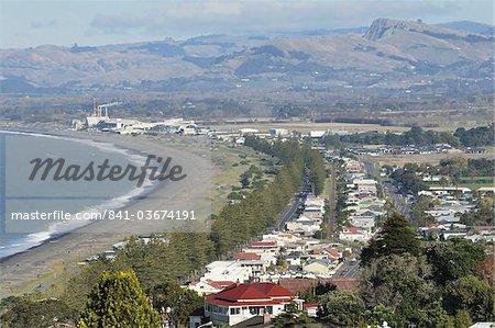 Napier, la baie de Hawke, North Island, New Zealand, Pacifique