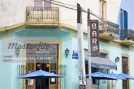 Bar La Argentina Pulperia en La Boca, quartier de Buenos Aires en Argentine, Amérique du Sud