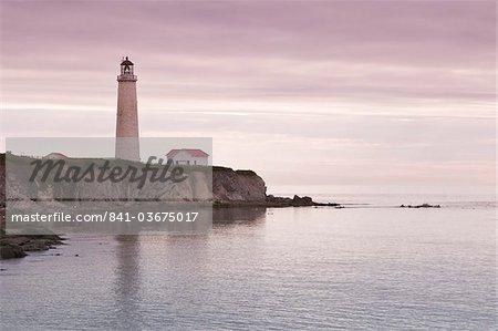 Kappe Des Rosiers Leuchtturm, Gaspe, Quebec, Kanada, Nordamerika