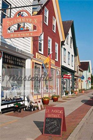 St. Andrews, New Brunswick, Canada, en Amérique du Nord