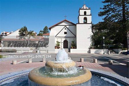Ancienne Mission San Buenaventura, Ventura, Californie, États-Unis d'Amérique, l'Amérique du Nord