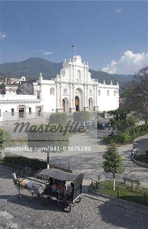 La cathédrale de San Jose, Antigua, Site du patrimoine mondial de l'UNESCO, le Guatemala, l'Amérique centrale