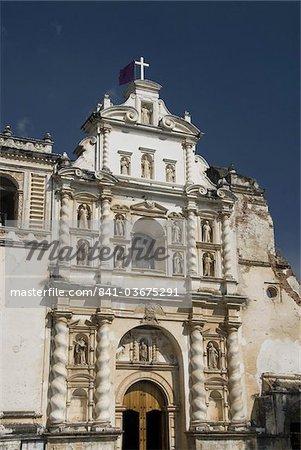 L'église de San Francisco, datant de 1579, Antigua, l'UNESCO World Heritage Site, Guatemala, Amérique centrale