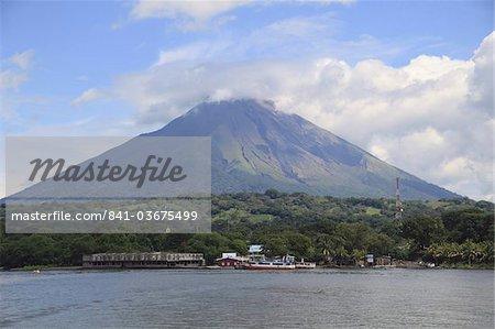 Volcano Concepcion, Isla de Ometepe, Ometepe Island, Lake Nicaragua, Nicaragua, Central America