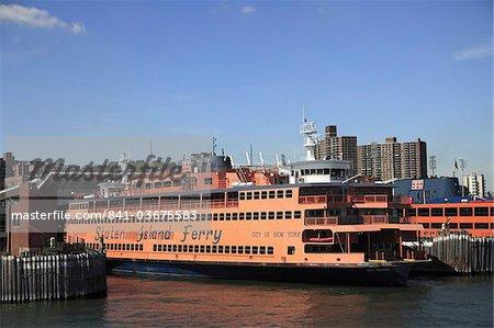 Staten Island Ferry, New York City, United States of America, North America