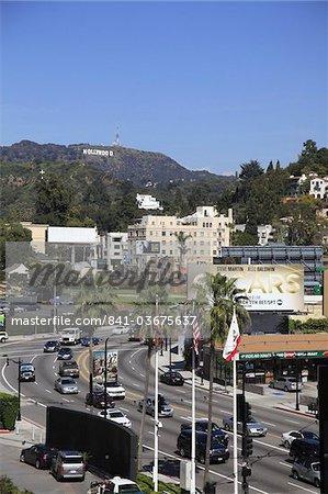 Oscars Billboard, Hollywood Sign, Hollywood, Los Angeles, California, United States of America, North America