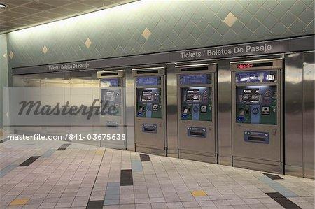 Hollywood et Highland Station de métro, Hollywood, Los Angeles, Californie, États-Unis d'Amérique, Amérique du Nord