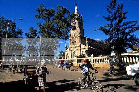 Antsirabe church , Madagascar, Africa