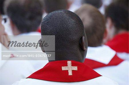 Prêtres catholiques, Paris, France, Europe
