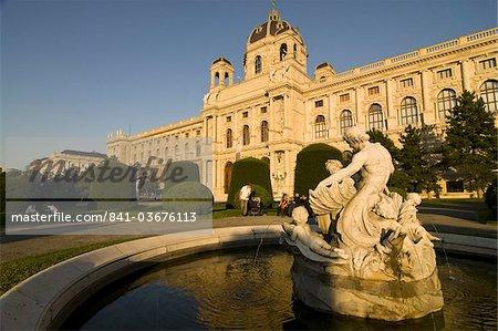Musée des Beaux Arts à Maria Teresa Platz, Vienne, Autriche, Europe