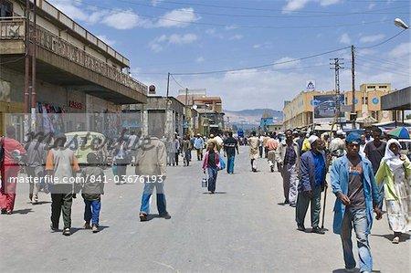 The Merkato, largest market in Addis Ababa, Ethiopia, Africa