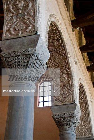 La 6ème siècle euphrasienne Basilique, patrimoine mondial UNESCO, Porec, Istrie, Croatie, Europe
