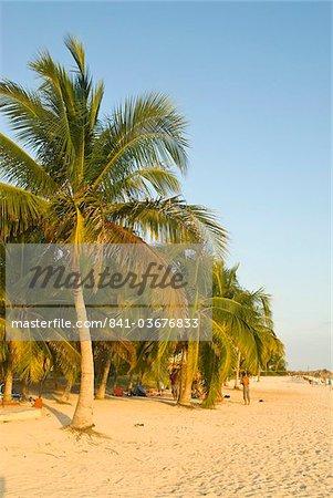 Plage de sable blanc, Playa Ancon, Trinidad, Cuba, Antilles, Caraïbes, Amérique centrale