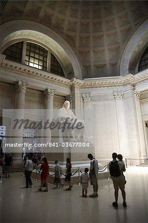 Statue de Benjamin Franklin à Philadelphie, Pennsylvanie, États-Unis d'Amérique, l'Amérique du Nord