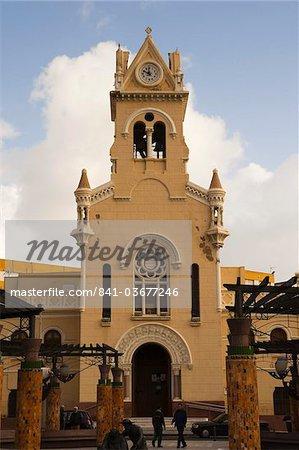 Modernist Sagrado Corazon church, Melilla, Spain, Spanish North Africa, Africa