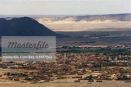 Oasis de Figuig, province de Figuig, Oriental Maroc, région, l'Afrique du Nord, Afrique