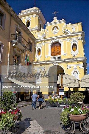 Eglise de la Madonna del Carmine à Piazzo Tasso de Sorrente, Riviera napolitaine, Campanie, Italie, Europe