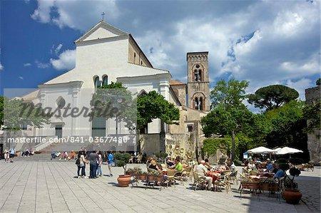 Piazza Del Duomo, Ravello, Amalfi Coast, UNESCO World Heritage Site, Campanie, Italie, Europe