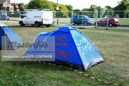 Climate camp.