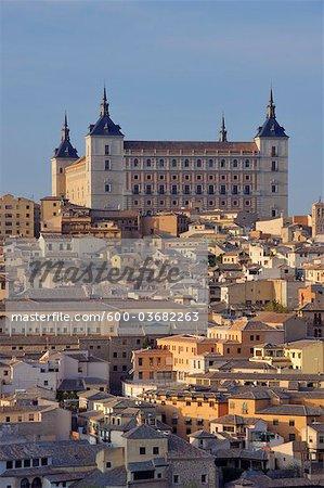 Alcazar de Toledo, Tolède, Province de Tolède, Castilla La Mancha, Espagne