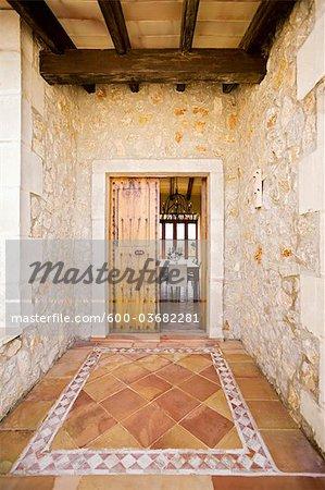 Extérieur de maison, Majorque, Espagne