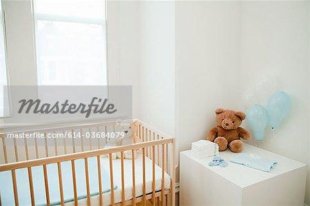 Chambre à coucher pour bébé