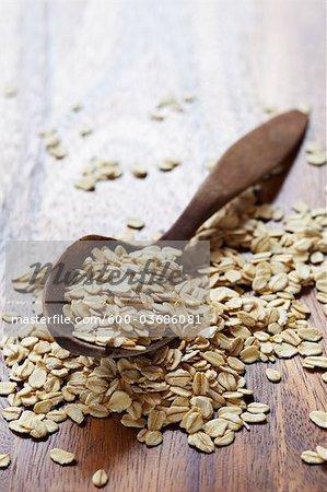 Grains entiers d'avoine