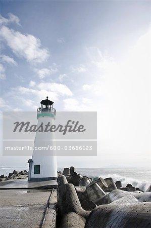 Walton Lighthouse, Santa Cruz, California, USA