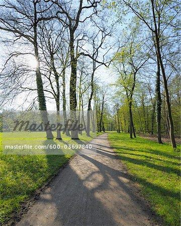 Park, Aschaffenburg, Bavaria, Franconia, Germany
