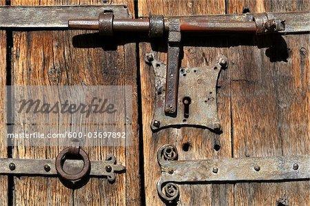 Old Fashioned Door Lock