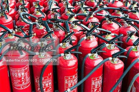 Fire Extinguishers, Beijing, China