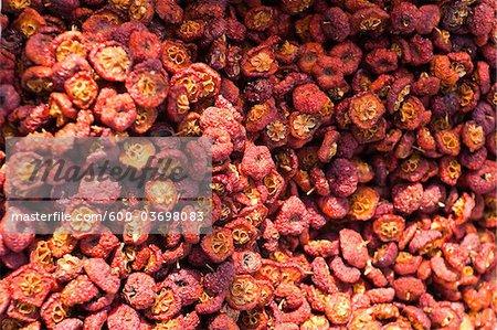 Fruits secs, Chuandixia Village, Mentougou District, Beijing, Chine