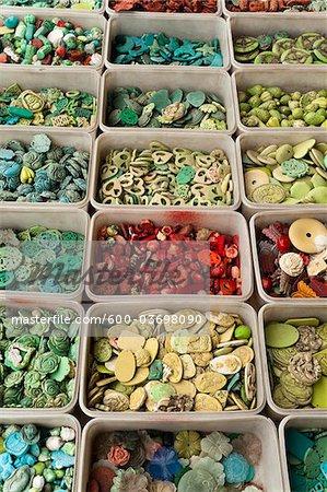 Beads, Panjiayuan Flea Market, Chaoyang District, Beijing, China