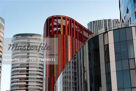 Sanlitun Soho bâtiment complexe, Beijing, Chine