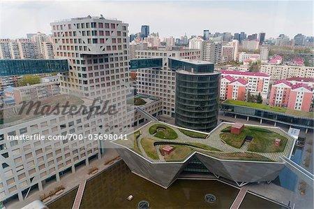 Linked Hybrid logement complexe, Beijing, Chine