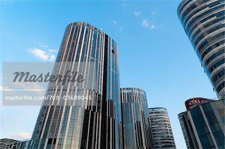 Bureaux et immeubles à appartements, Beijing, Chine