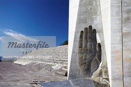 Estonie, Tallinn, Pirita, mémorial de guerre soviétique