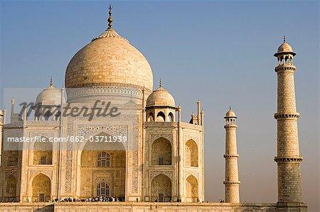 The Mausoleum of Taj Mahal,Agra. India