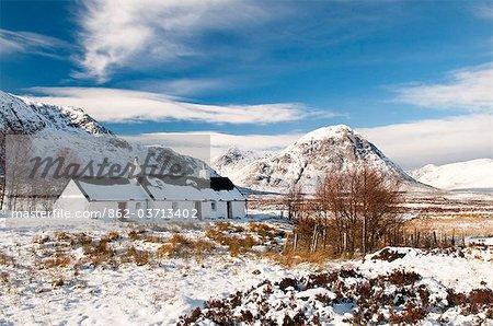 Black Rock Cottage, Glencoe, Scotland, UK