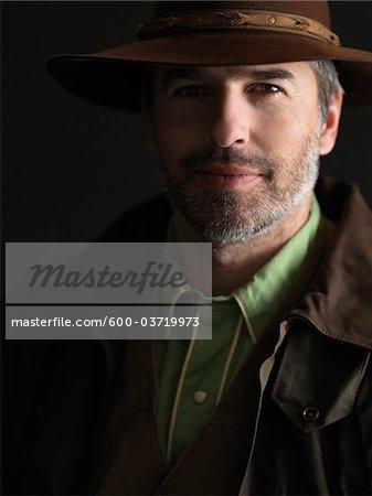 Portrait de Cowboy