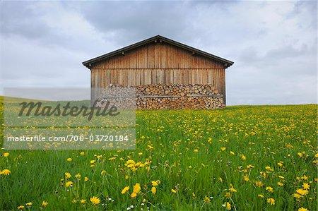 Grange, Greith, Allgäu, Bavière, Allemagne