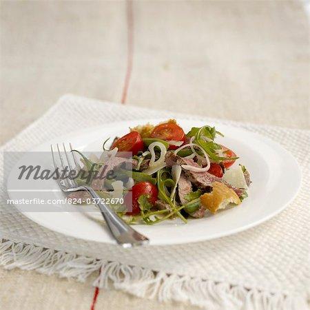 Salade de bifteck