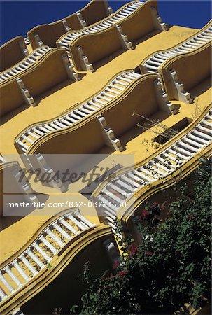 Balcons à Plaza de los Coches, faible Angle de vue